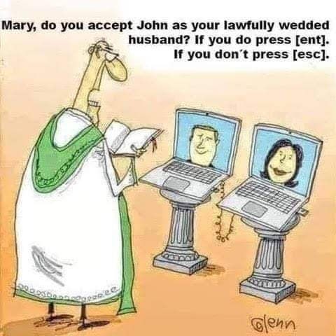Virtual Lawfully Wedded Husband Funny Meme