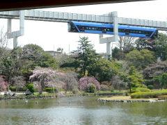 千葉公園から撮影したモノレール1