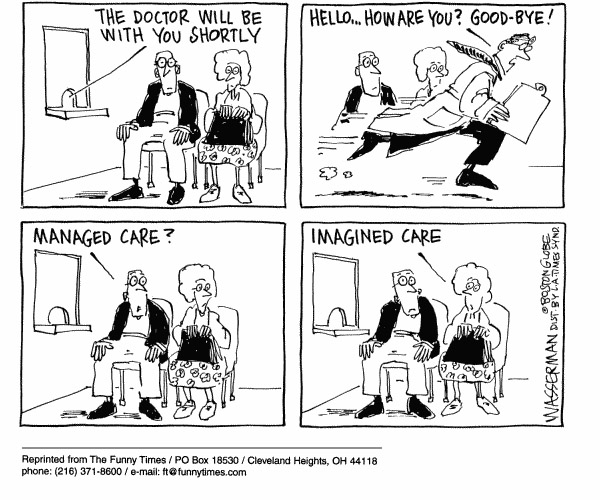 9 Funny Cartoons Comment On The Challenges For Digital Health