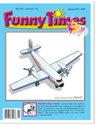 Funny Times January 2011 Issue Cover