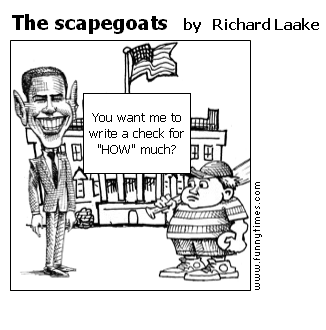 The scapegoats by Richard Laake