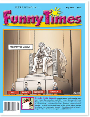 Funny Times May 2012 Issue Cover