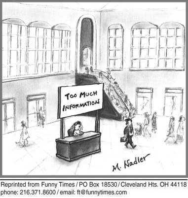 Funny shopping information nadler cartoon, October 24, 2012