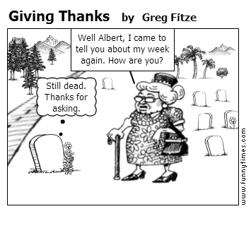 Giving Thanks by Greg Fitze
