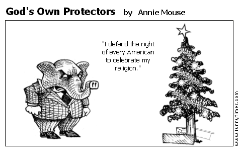God's Own Protectors by Annie Mouse
