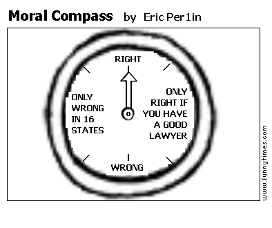 Moral Compass by Eric Per1in