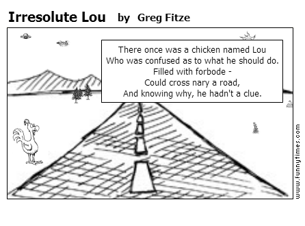 Irresolute Lou by Greg Fitze