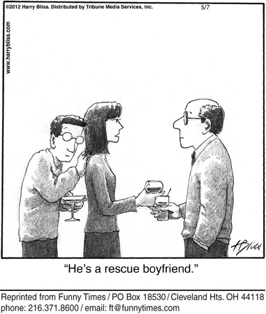Funny relationship dating couple  cartoon, May 14, 2014