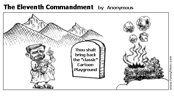 The Eleventh Commandment by Anonymous
