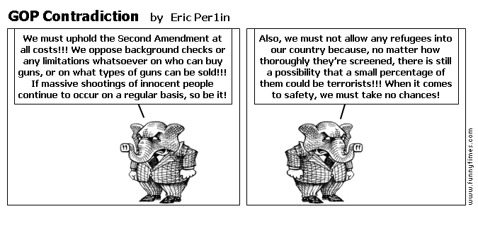 GOP Contradiction by Eric Per1in