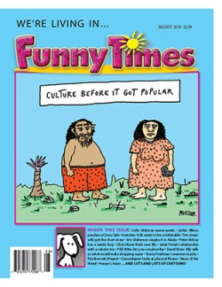Funny Times August 2019 Cover Mueller Popular Culture
