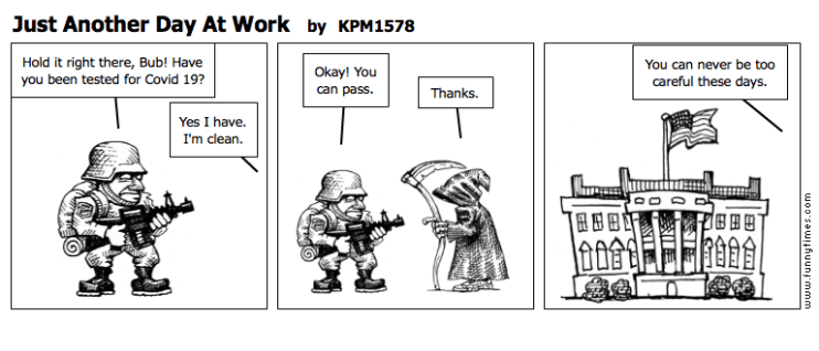 Just Another Day At Work by KPM1578