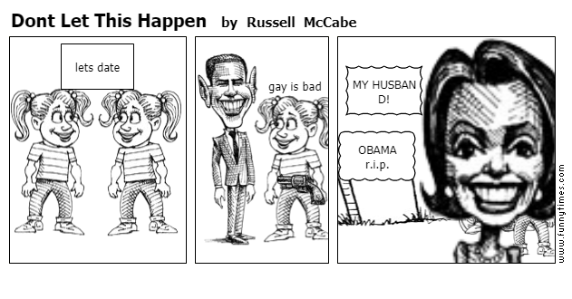 Dont Let This Happen by Russell McCabe