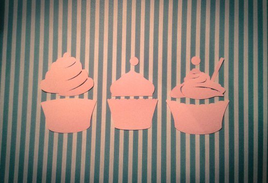 cup cake silhouette