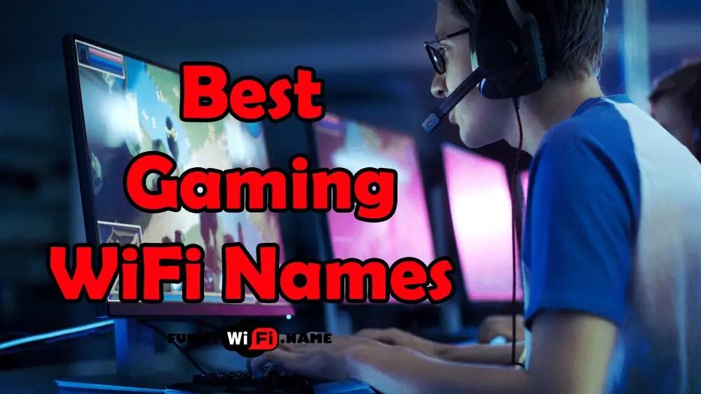 gaming wifi names