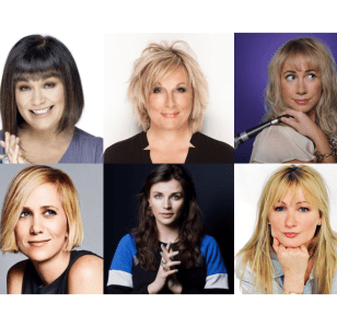 Our IWD 100 Funniest Women Top 10!