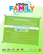 Activision Family Game Summit {Announcement}