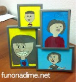 Children Self Portraits {Creative Gifting}