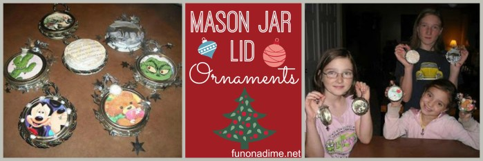 Mason Jar ornaments