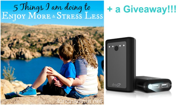 Enjoy more stress less at&T giveaway