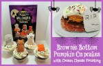 Brownie Bottom Pumpkin Cupcakes and a Free Printable