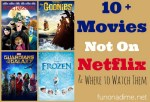 Frozen and 9 movies not on Netflix (and where to watch them)