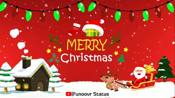 Merry Christmas and happy new year wishes shorts video