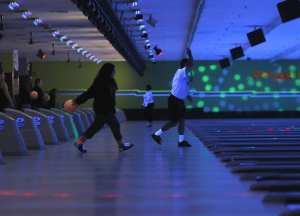 Rab's Country Lanes Bowlers at Cosmic Bowling