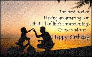 Birthday Quotes for Son from Father