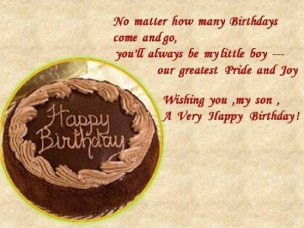 Birthday Quotes for Son from Mother
