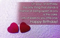 Birthday Quotes for Son turning 1