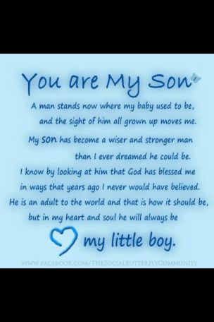 Birthday Quotes for Son turning 18