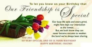 Birthday Quotes for Special Friend