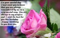 Birthday Quotes for Special People