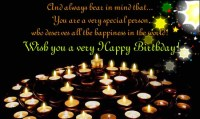 Birthday Quotes for Special Person