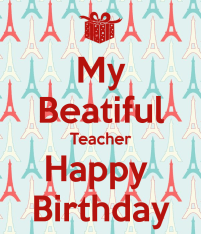 Best Birthday Quotes for Teachers