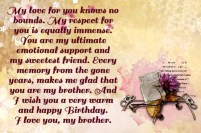 Birthday Quotes for elder Brother