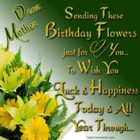 Birthday Quotes for Relatives