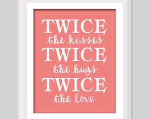 Birthday Quotes for Twins