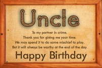 Birthday Quotes for Uncle from Niece