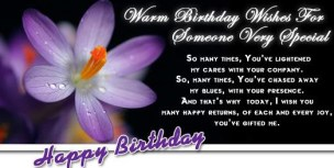 Birthday Quotes for well wisher