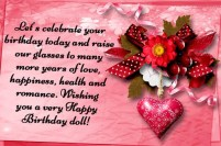 Birthday Quotes for wife Love