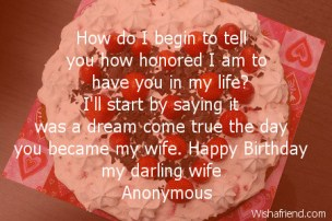 Birthday Quotes for wives