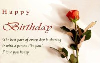 Birthday Quotes for would be Husband