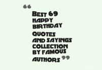 Birthday Quotes for writers