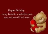Funny Birthday Quotes for younger Sister