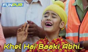KHEL HAI BAAKI ABHI Song Lyrics – Kulfi Kumar Bajewala | Star Plus