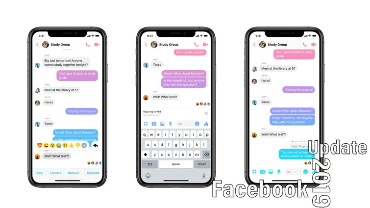 facebook messenger new features