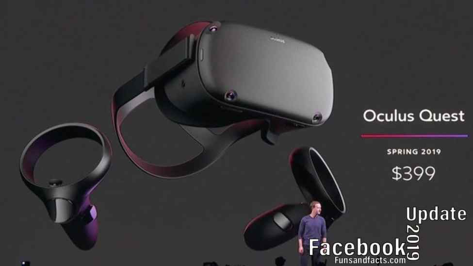 oculus quest and oculus rift price and update by facebook
