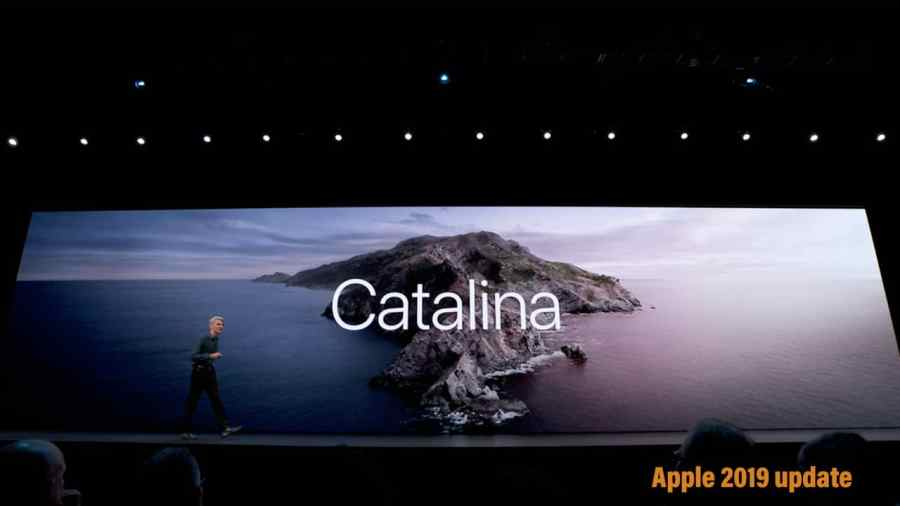 MacOS Catalina, new new macOS by Apple announced at WWDC